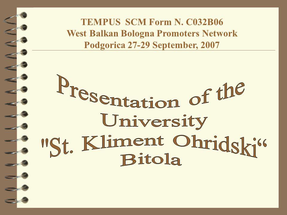 St.Kliment Ohridski University Bul. 1.