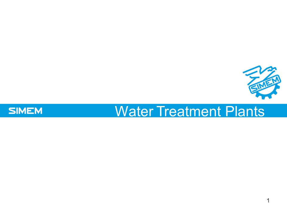 SIMEM Company Profile Water Treatment Plants 1