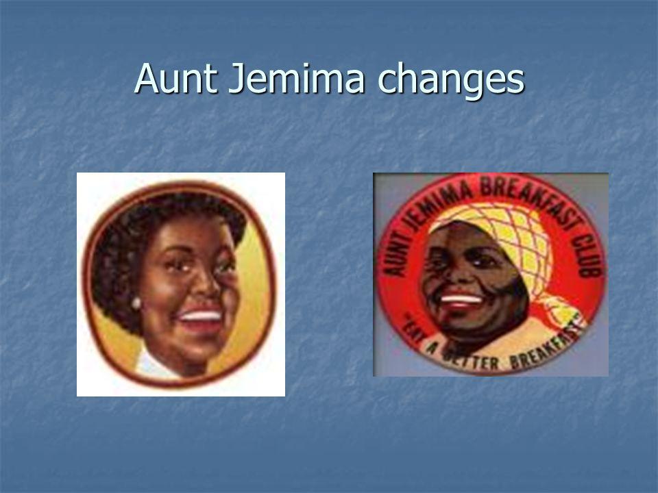 Aunt Jemima changes