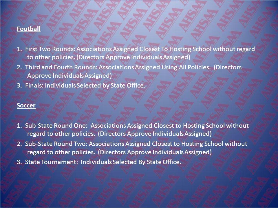 2008 New Playoff Assignment Procedures Baseball 1.