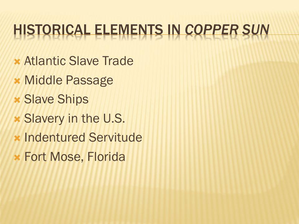  Atlantic Slave Trade  Middle Passage  Slave Ships  Slavery in the U.S.  Indentured Servitude  Fort Mose, Florida