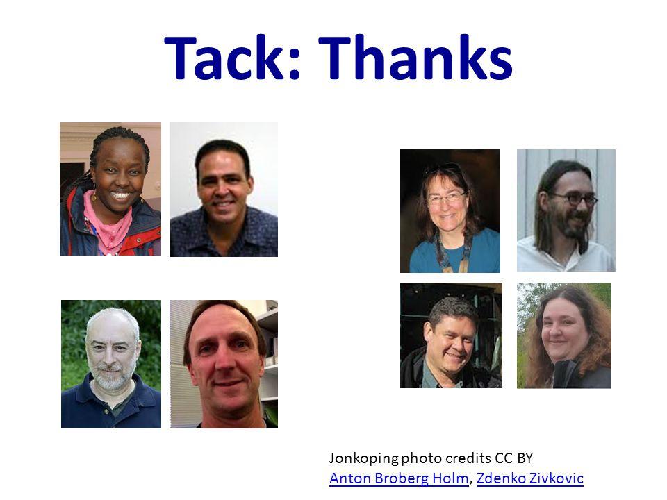 Tack: Thanks Jonkoping photo credits CC BY Anton Broberg HolmAnton Broberg Holm, Zdenko ZivkovicZdenko Zivkovic