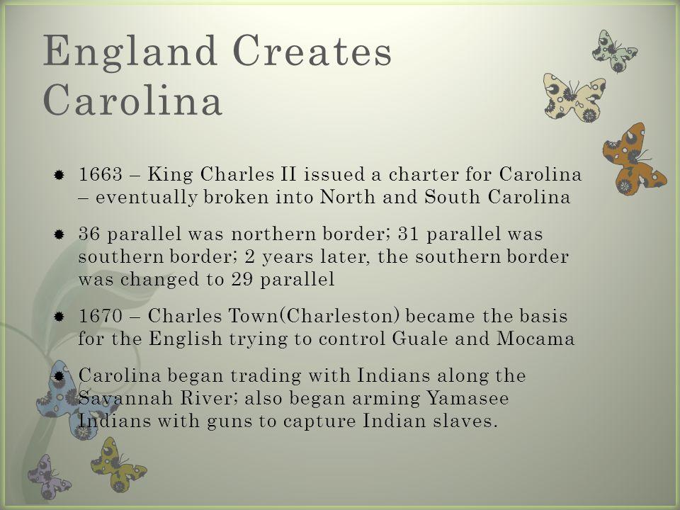 England Creates Carolina