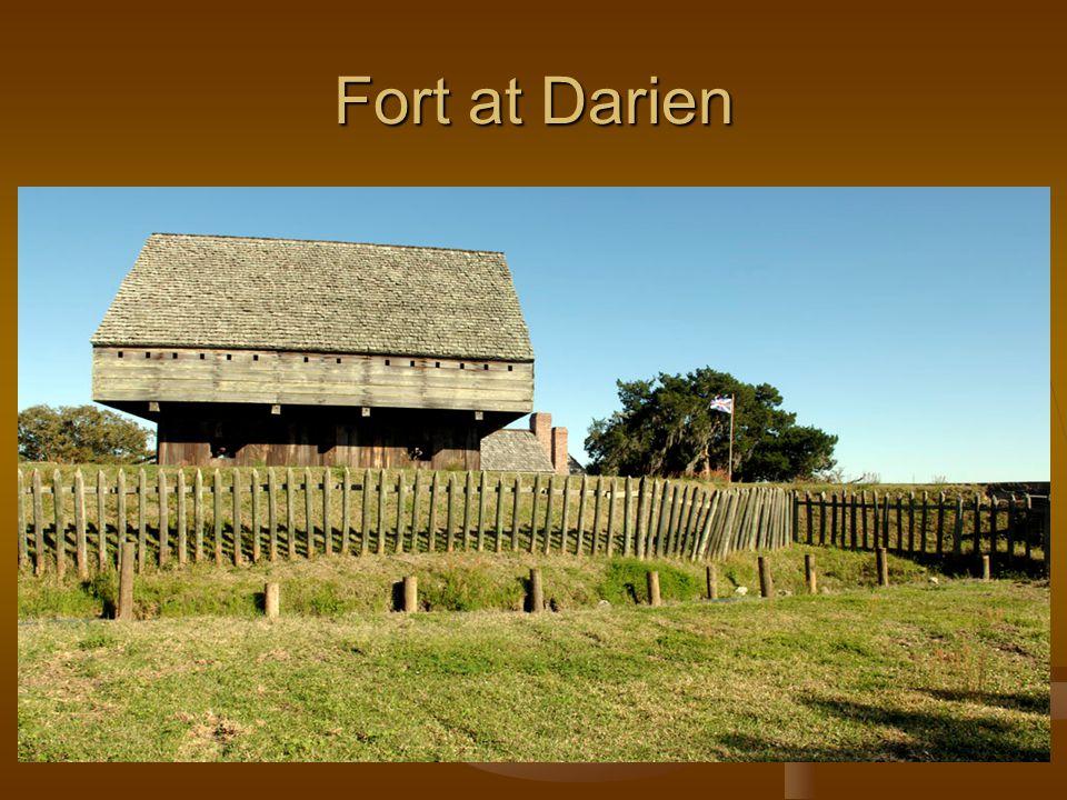 Fort at Darien