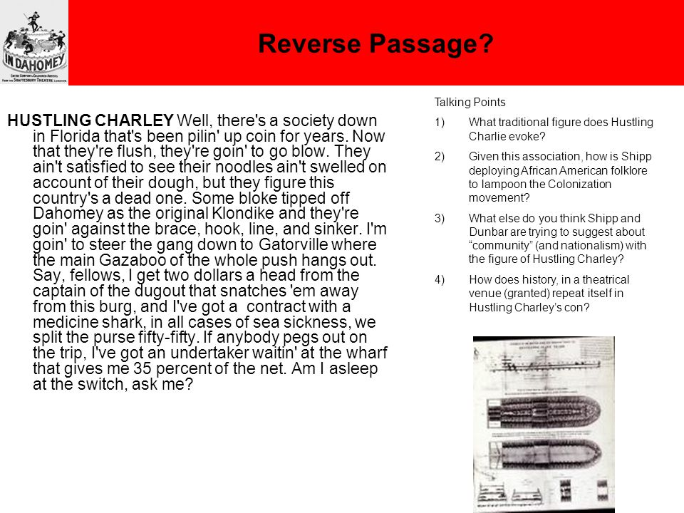 Reverse Passage.