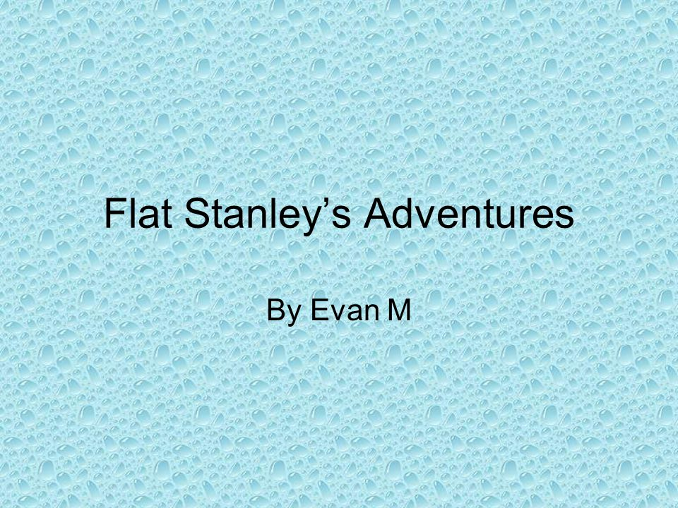 Flat Stanley's Adventures By Evan M