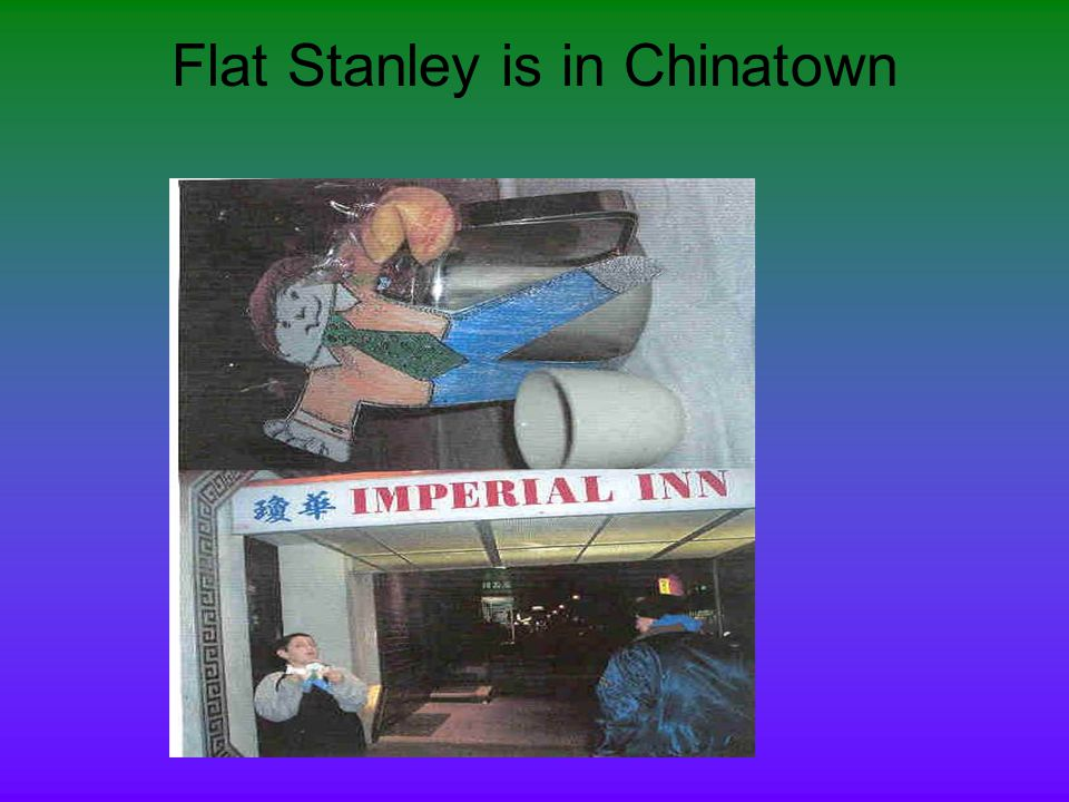 Flat Stanley is in Chinatown