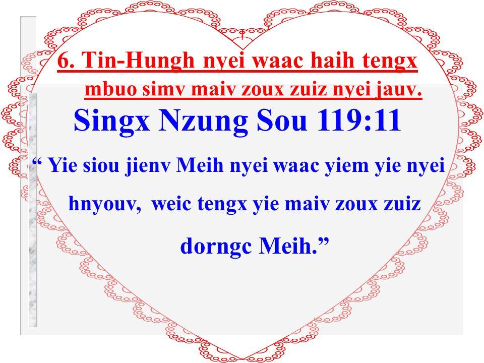 5. Ging-Sou Tin-Hungh nyei waac se dunh yunh nyei Leiz-Latc.