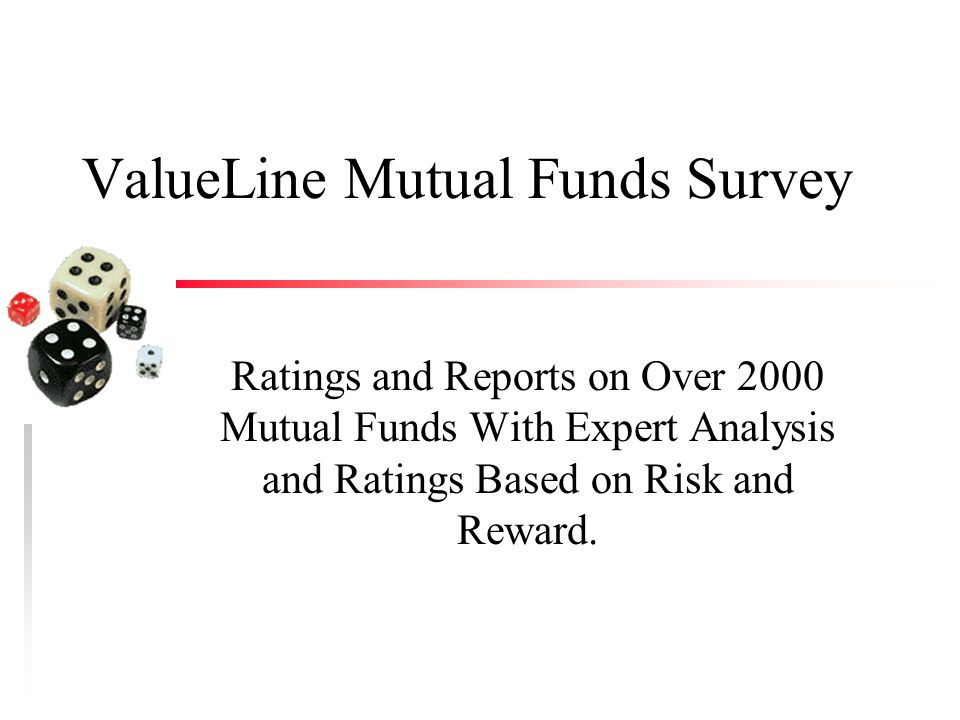 ValueLine Mutual Funds Survey Ratings and Reports on Over 2000 Mutual Funds With Expert Analysis and Ratings Based on Risk and Reward.