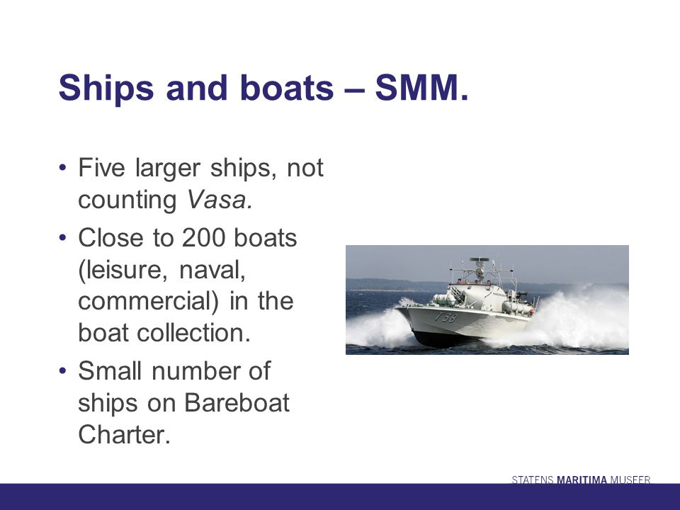 SMM -the future for historic ships.More focus on networks, Bareboat Charter and partnerships.