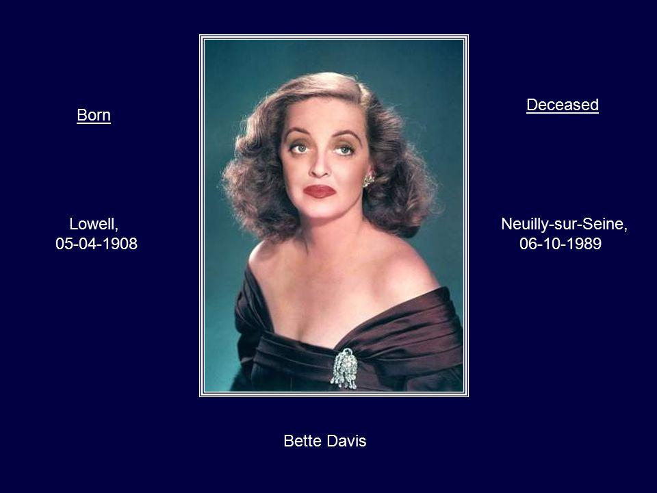 Audrey Hepburn Elsene, Belgium 04-05-1929 Tolochenaz, Switzerland 20-01-1993 BornDeceased