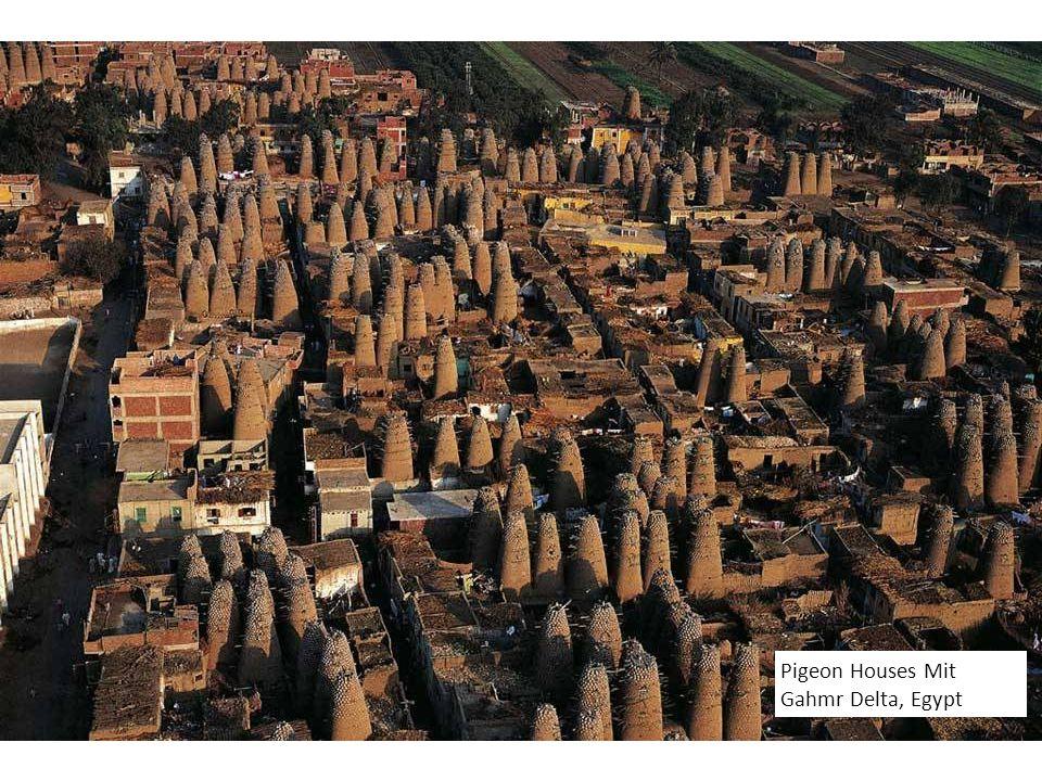 Pigeon Houses Mit Gahmr Delta, Egypt