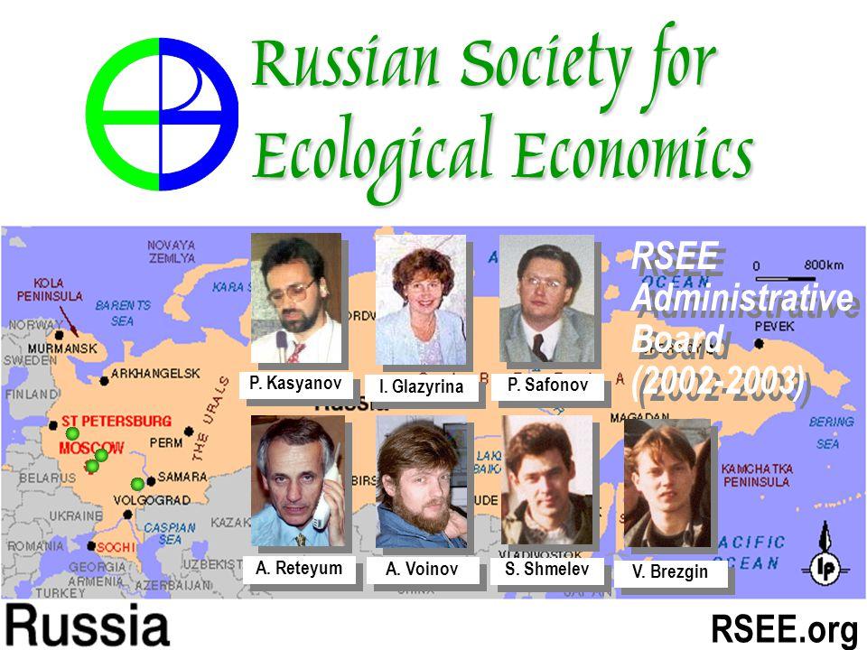 RSEE.org I. Glazyrina A. Reteyum A. Voinov S. Shmelev V.