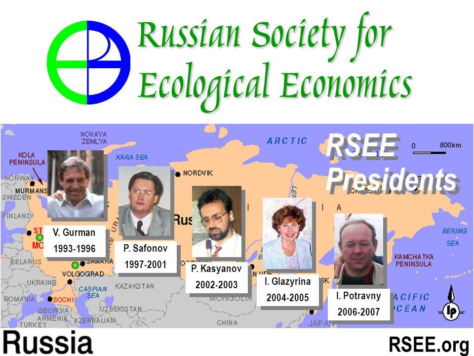 RSEE.org I. Glazyrina 2004-2005 I. Glazyrina 2004-2005 P.