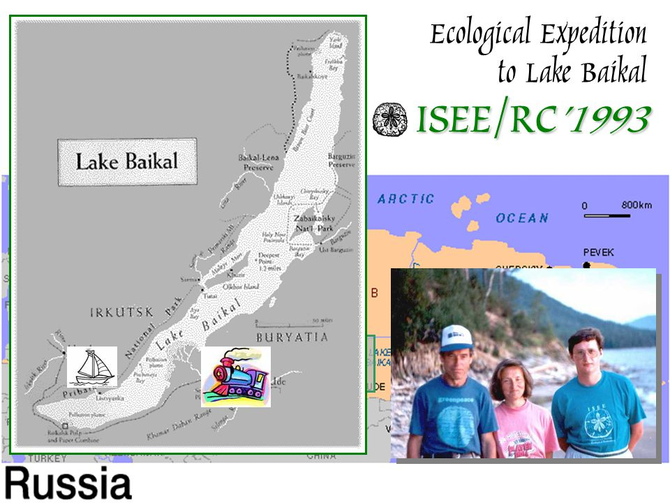 ISEE/RC'1993 Ecological Expedition to Lake Baikal ISEE/RC'1993