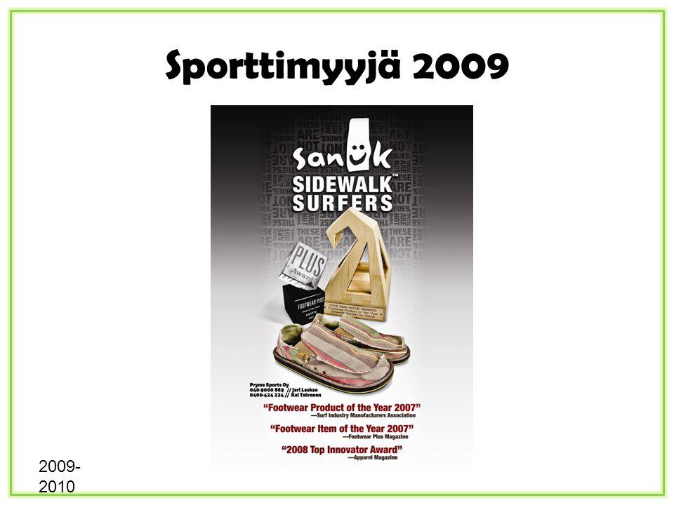 Sporttimyyjä 2009 2009- 2010
