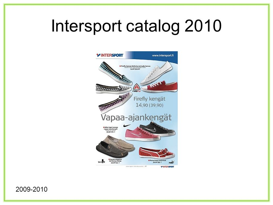 Intersport catalog 2010 2009-2010