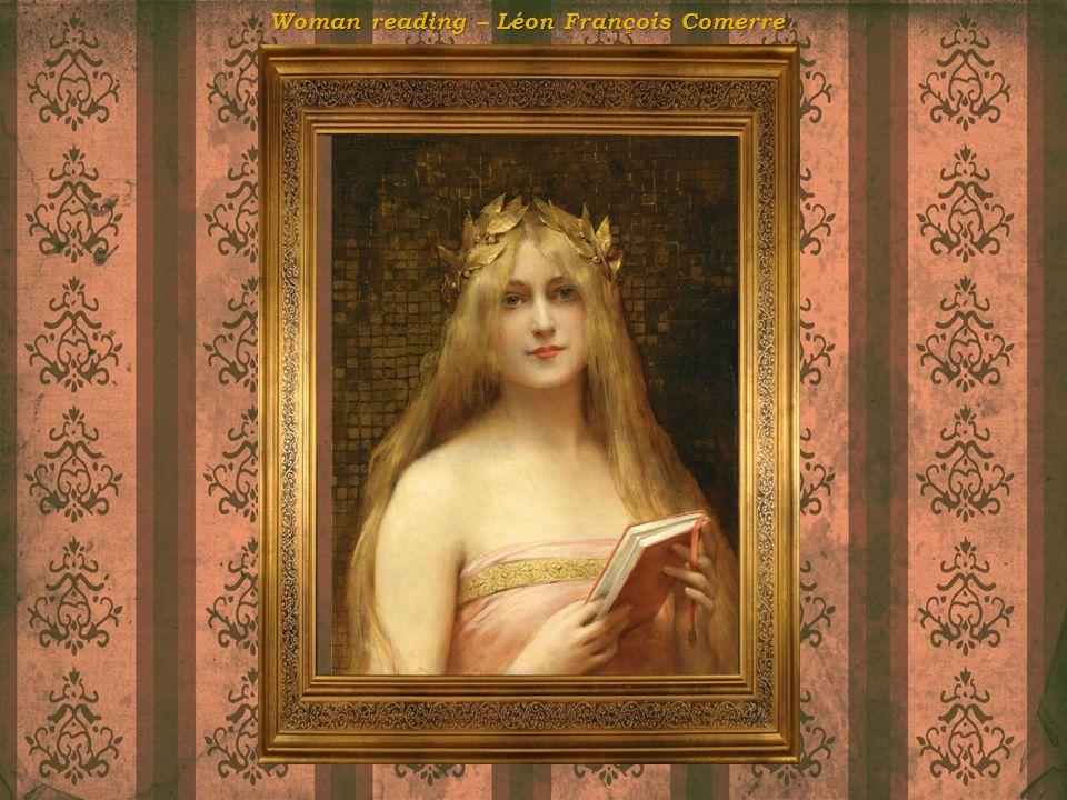 Woman reading Léon François Comerre Woman reading – Léon François Comerre