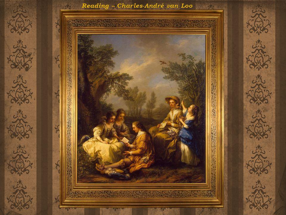 Charles-André van Loo Reading – Charles-André van Loo