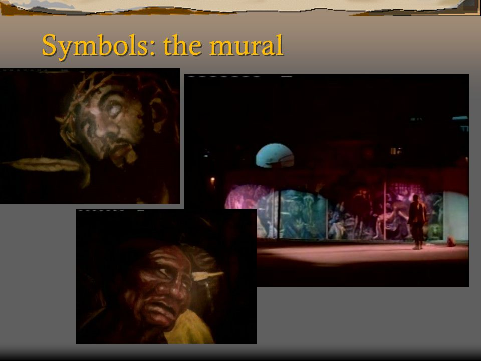 Symbols: the mural