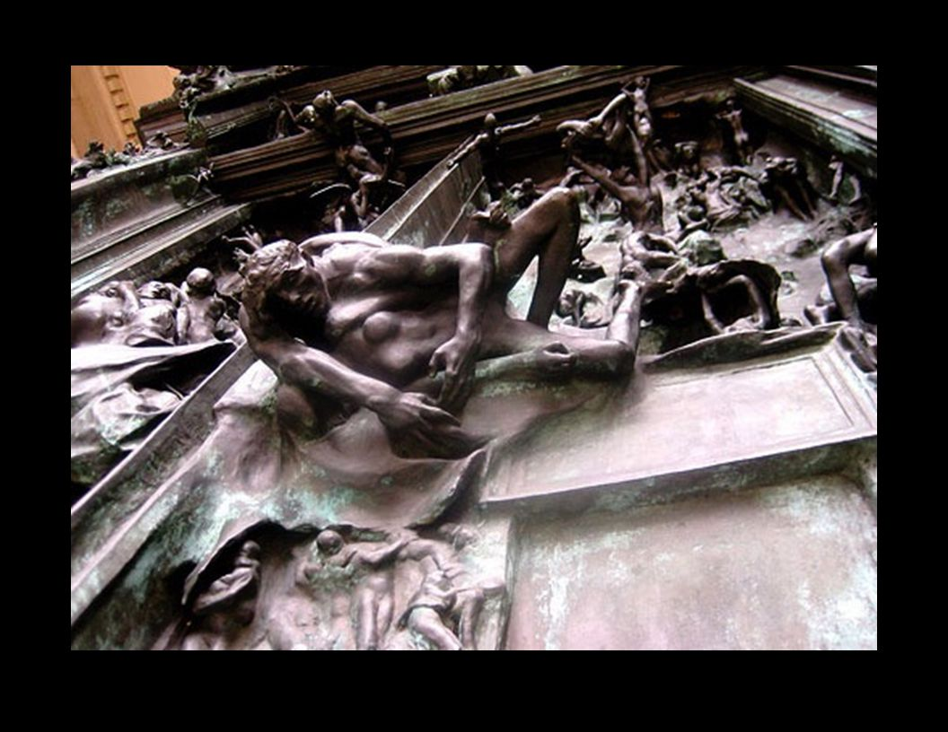 Rodin's Ruptures with 19th C Narrative Structure: 1.