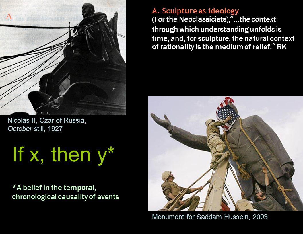 A.Sculpture as ideology (example) Buddha of Bamiyan, 2000 yrs.