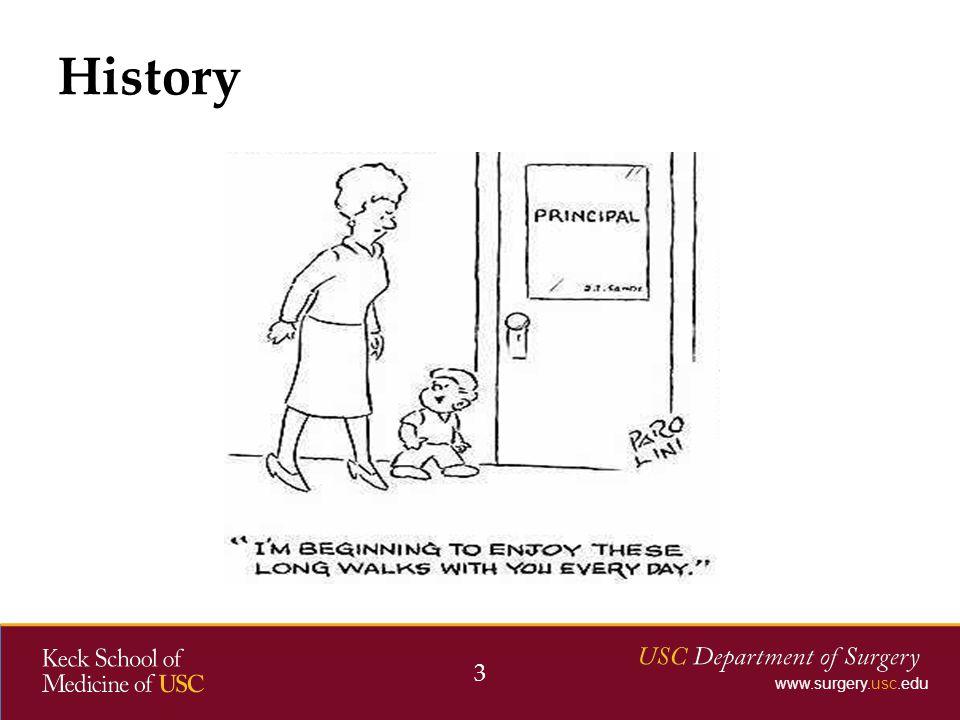 www.surgery.usc.edu History 3