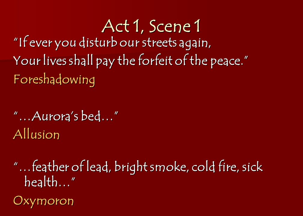 Example Of Allusion In Romeo And Juliet Act 2 Choice Image Example