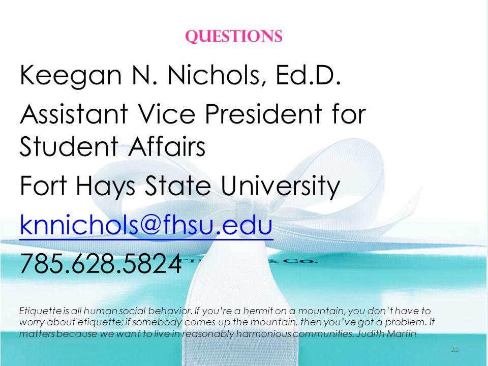 Keegan N. Nichols, Ed.D.