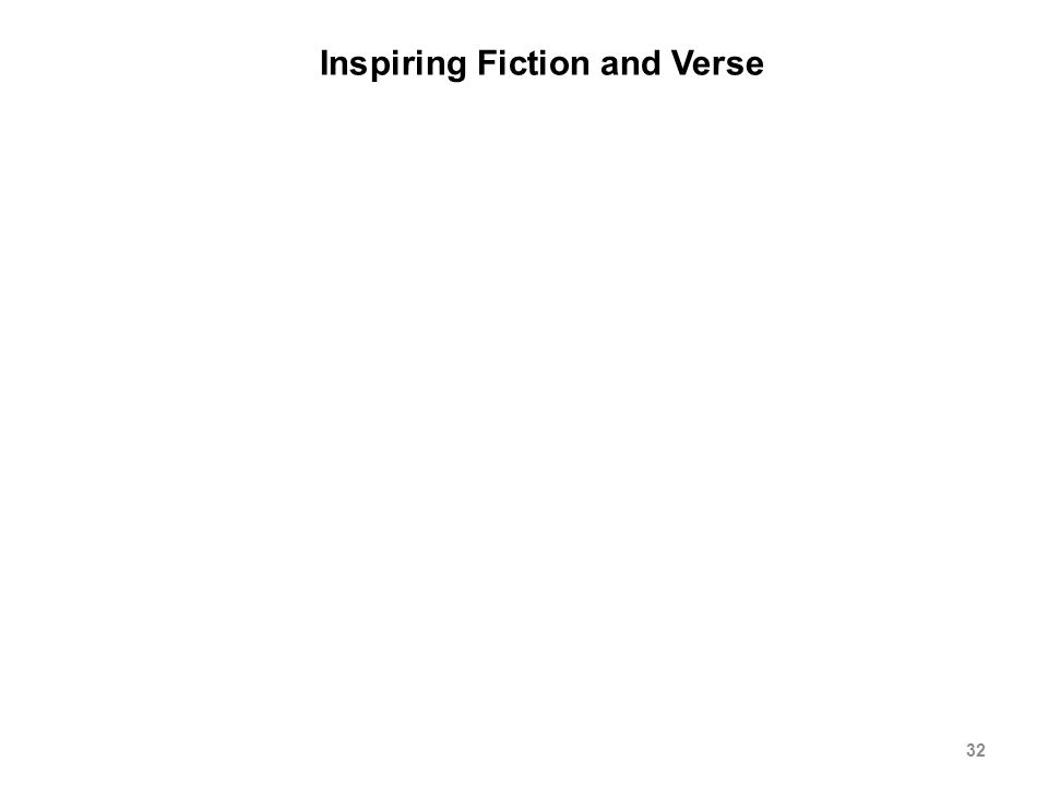 Inspiring Fiction and Verse 32