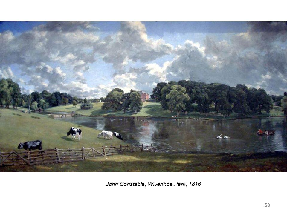 58 John Constable, Wivenhoe Park, 1816