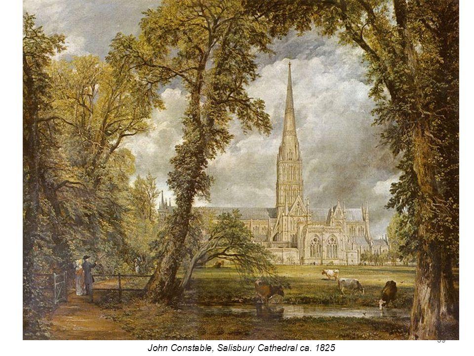 59 John Constable, Salisbury Cathedral ca. 1825