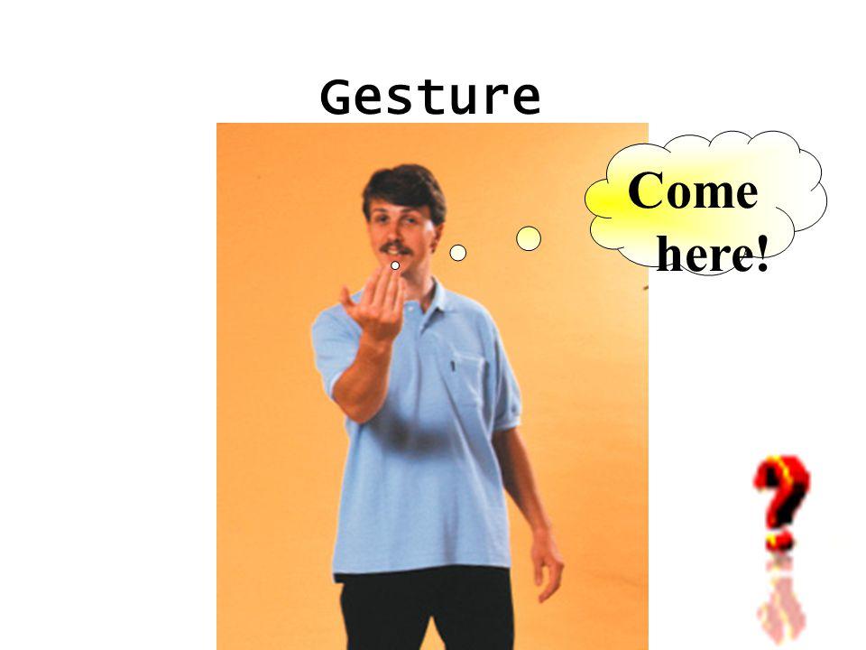 Gesture Bad!