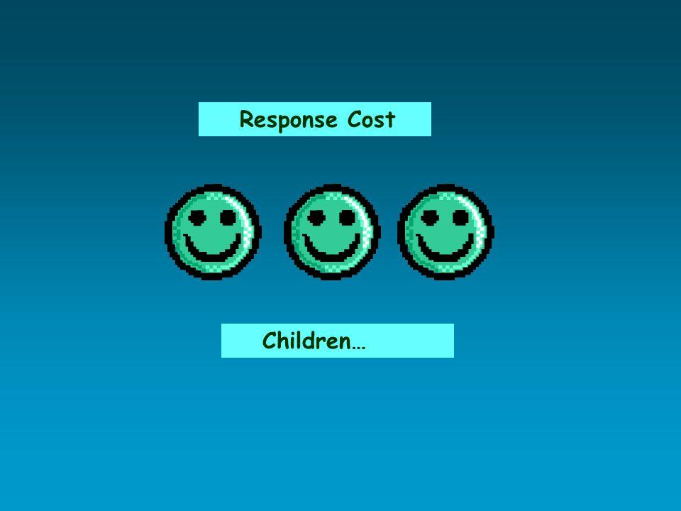 Response Cost Children…