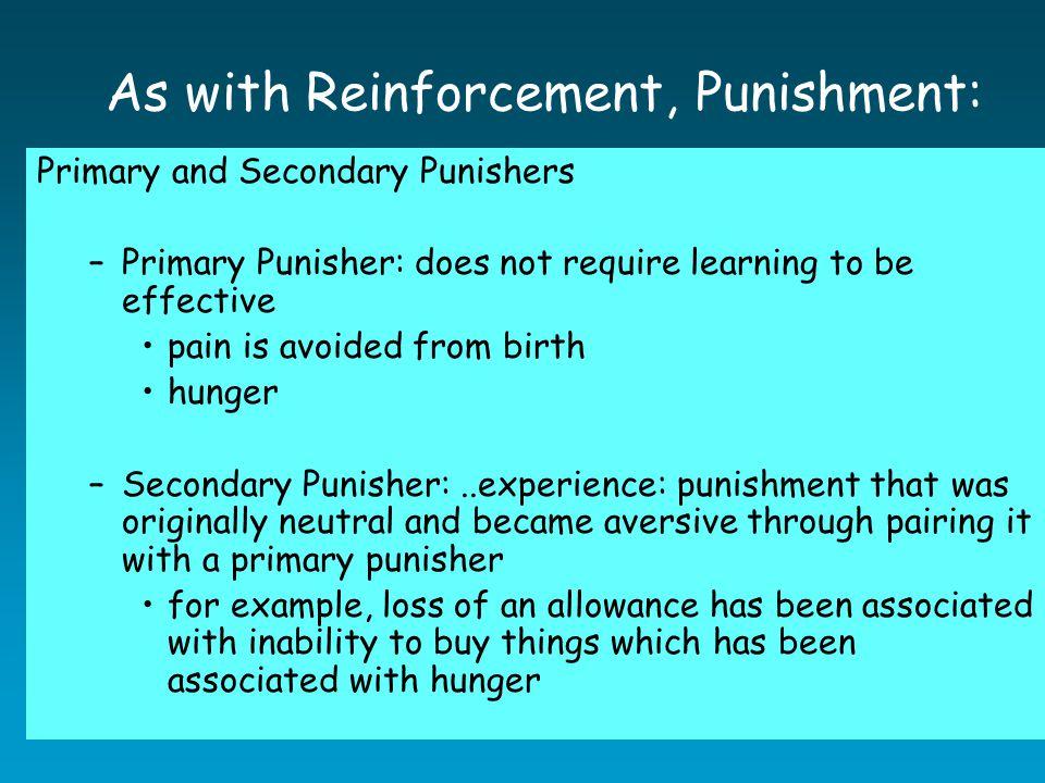 Side Effects of Punishment Spanking….