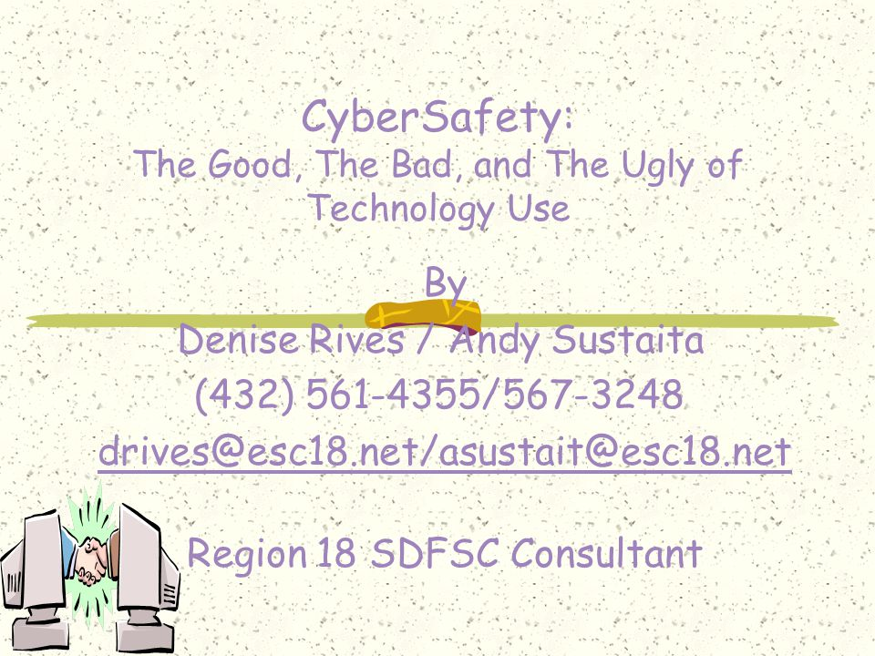 Outline of Topics Basic Internet Safety Rules Where to Use These Safety Rules Internet Predators