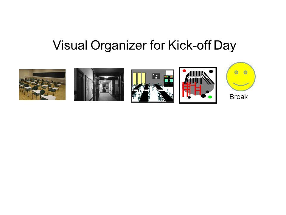 Visual Organizer for Kick-off Day Break