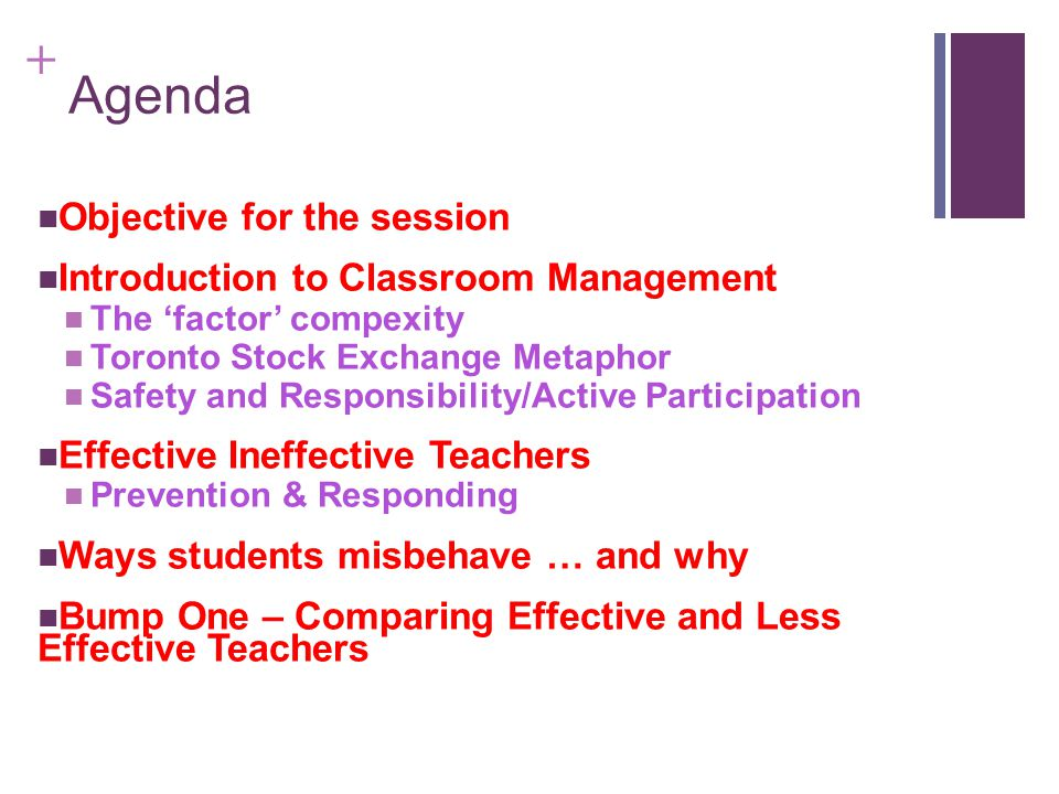 + What is Bump 2 in your classroom.