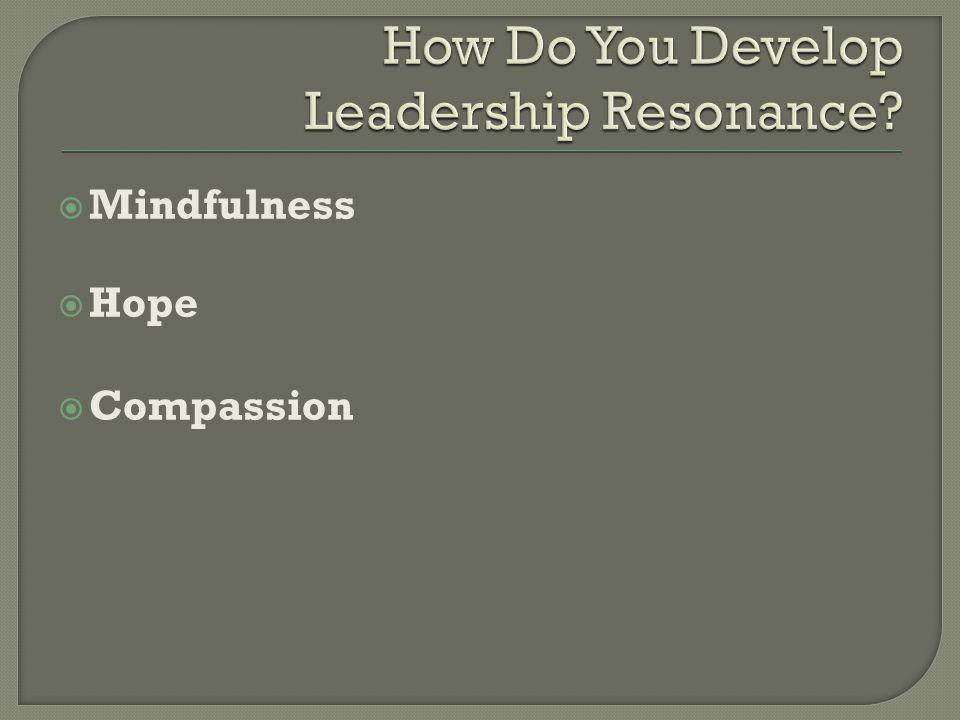  Mindfulness  Hope  Compassion