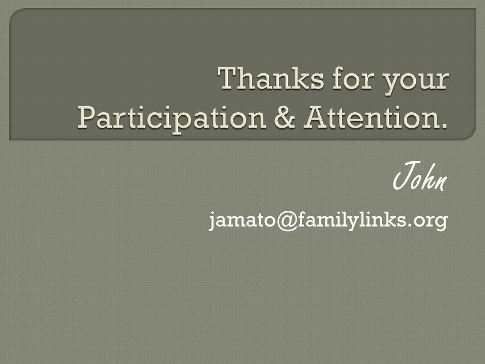 John jamato@familylinks.org