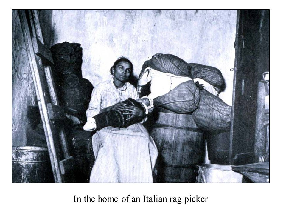 In the home of an Italian rag picker