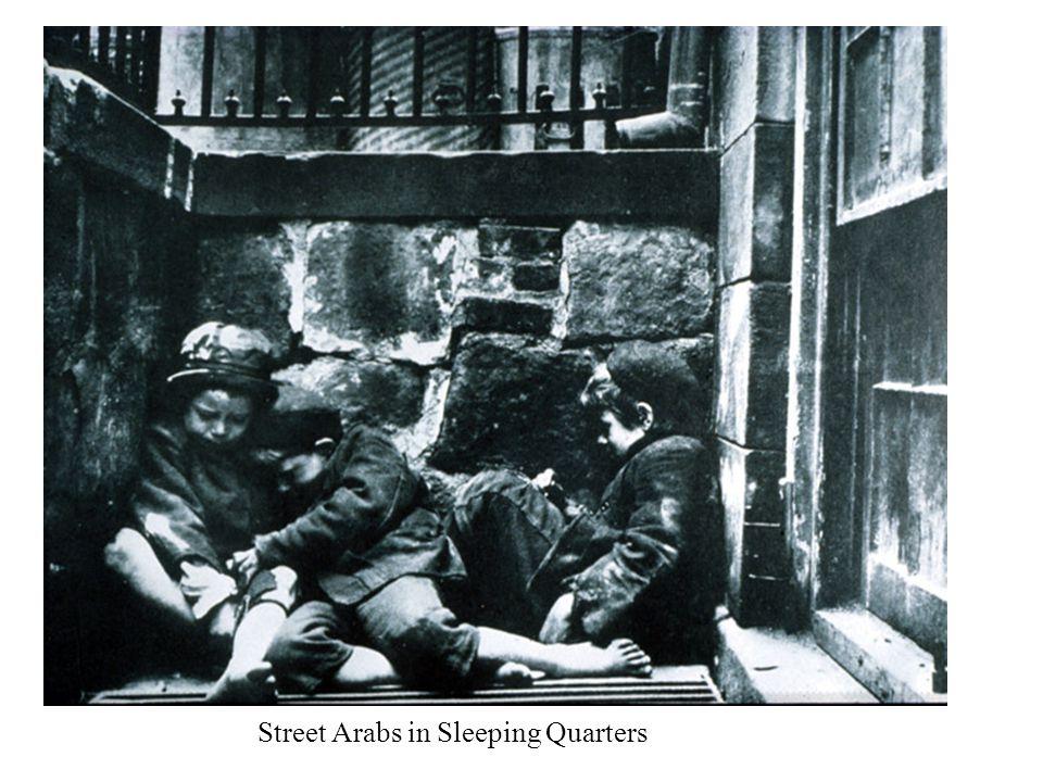 Street Arabs in Sleeping Quarters