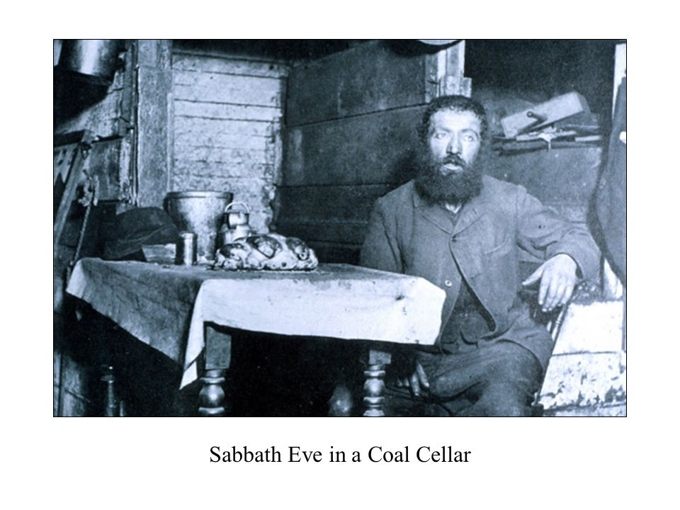 Sabbath Eve in a Coal Cellar