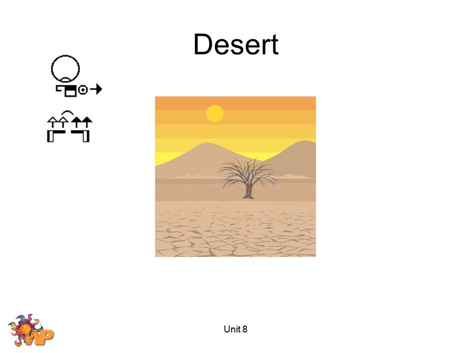 Unit 8 Desert Unit 8