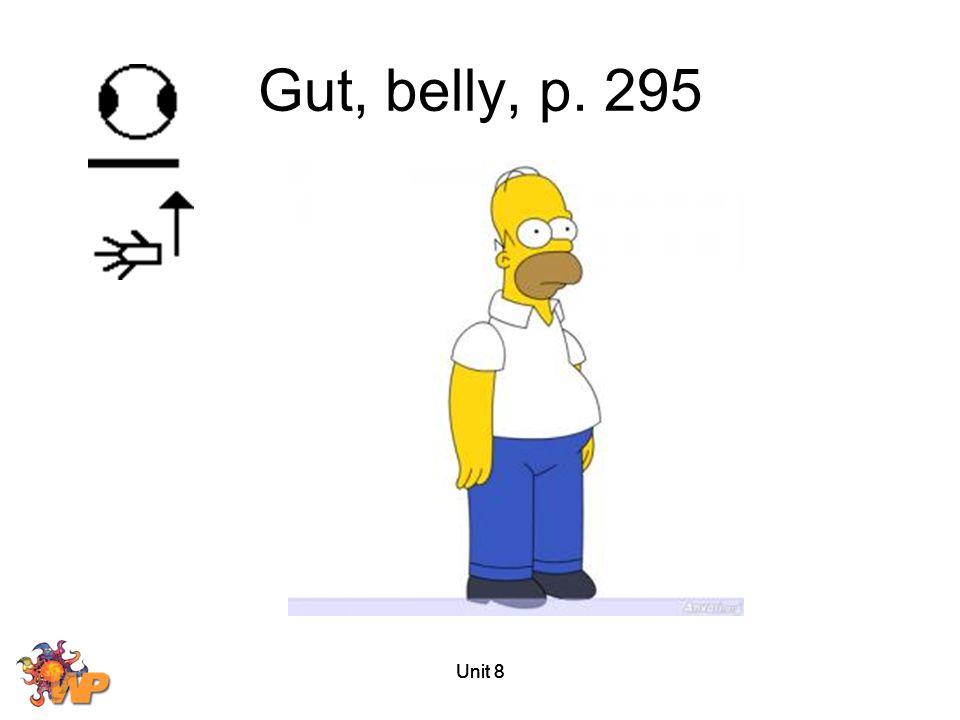 Unit 8 Gut, belly, p. 295