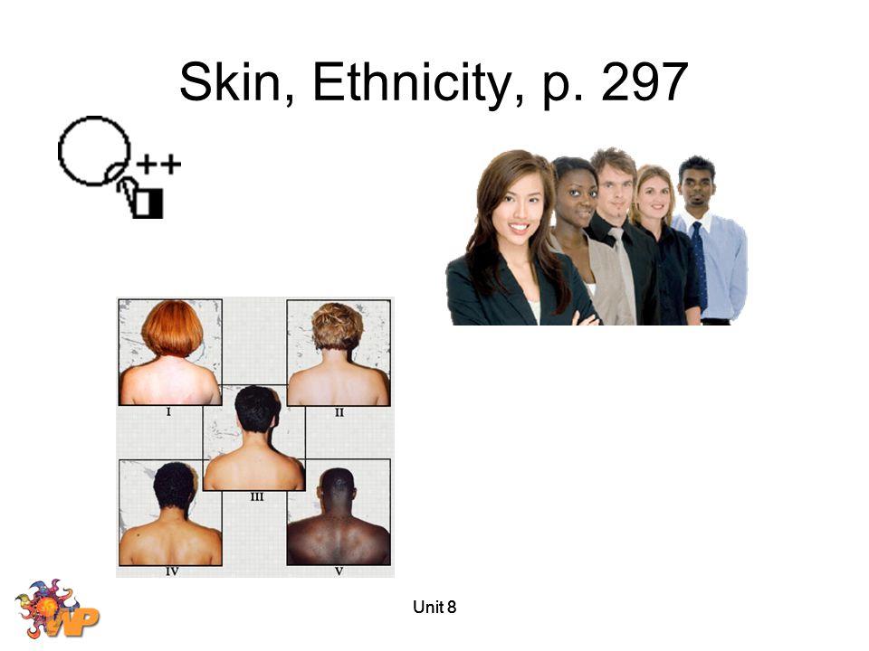 Unit 8 Skin, Ethnicity, p. 297
