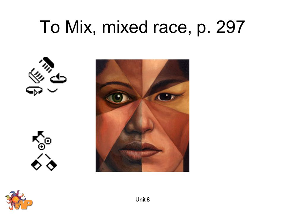 Unit 8 To Mix, mixed race, p. 297
