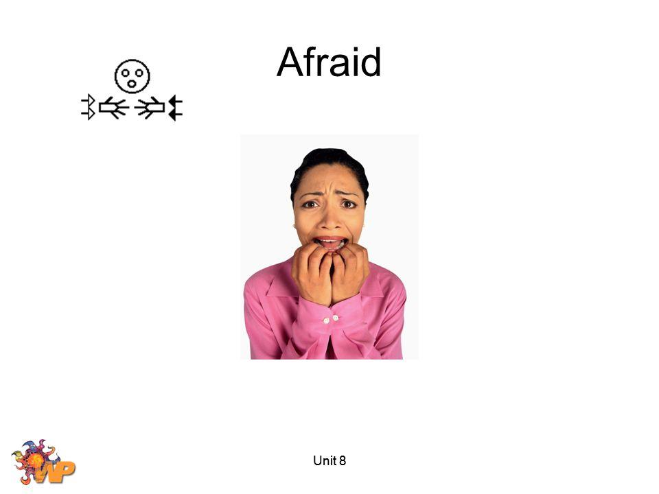Unit 8 Afraid