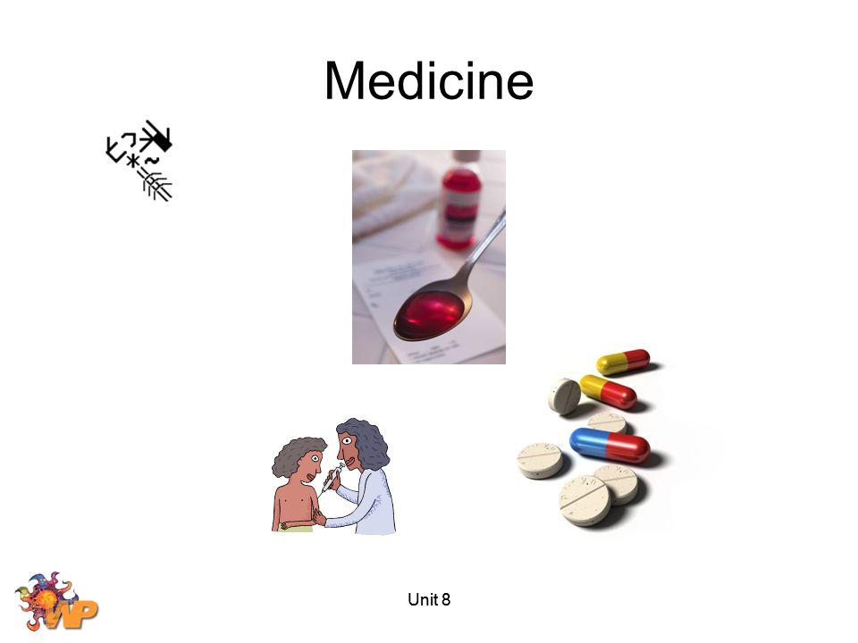 Medicine Unit 8