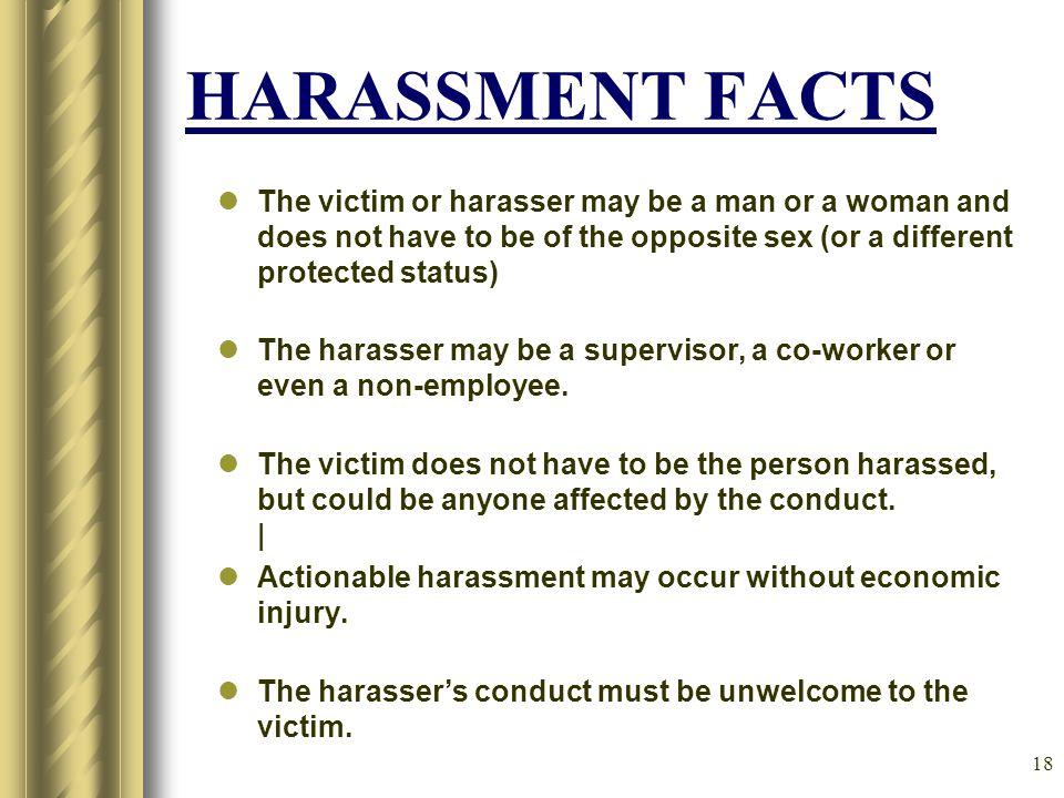 17 What constitutes Sexual Harassment.